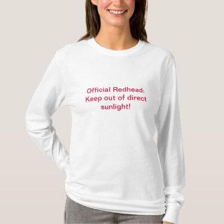 Official Redhead T-Shirt