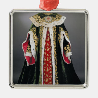 Official robes of the Hungarian Silver-Colored Square Ornament
