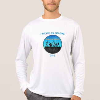 Official Rockin For The Cure Long Sleeve T-Shirt