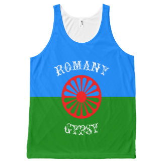Official romany gypsy flag