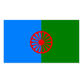 Official Romany gypsy flag Business Card