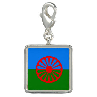 Official Romany gypsy flag Charm