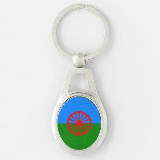 Official Romany gypsy flag Keychain