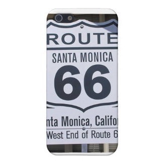 Official Route 66 end sign santa monica iPhone 5 Cases