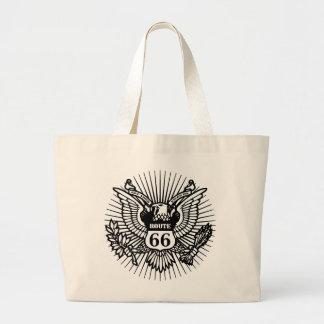 Official Rt. 66 Jumbo Tote Bag