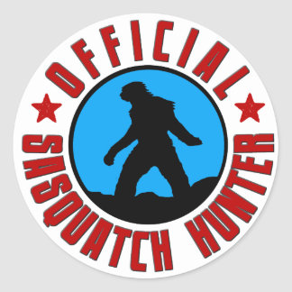 Official Sasquatch Hunter! Bigfoot Member Sticker