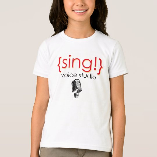 Official Sing Voice Studio Apparel T-Shirt