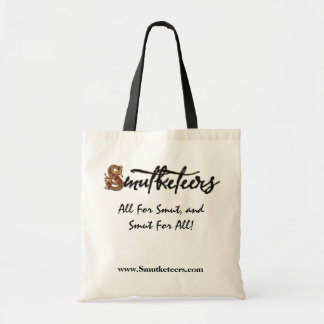 Official Smutketeers Tote! Budget Tote Bag