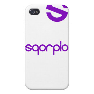 Official Sqorpio iPhone Hard-case iPhone 4/4S Cover