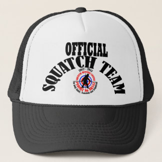 Official squatch team trucker hat