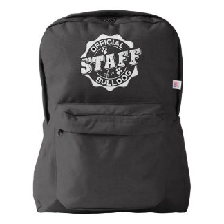 Official Staff of a Bulldog Backpack
