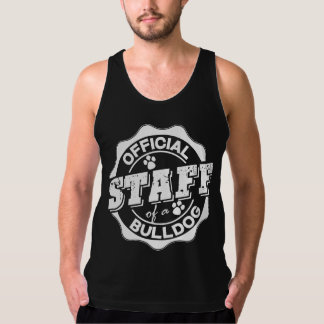 Official Staff of a Bulldog Tank Top