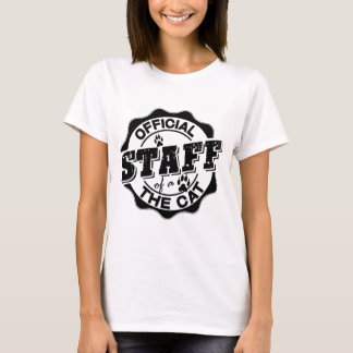 Official Staff of the Cat T-Shirt