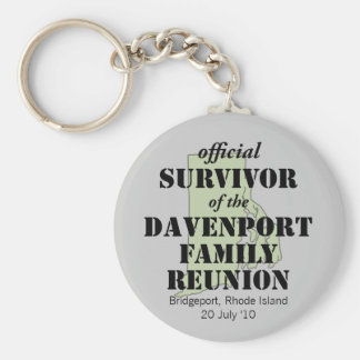 Official Survivor (green) Keychain