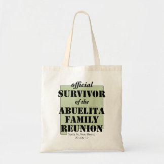 Official Survivor (green) Tote Bag