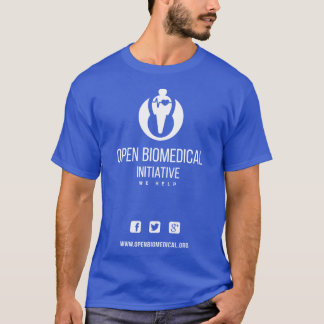 Official T-shirt for the Open BioMedical Community