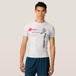 Official tee-shirt compression Barefoot Friends T-shirt