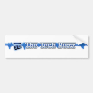 Official The Tech Buzz Logo Stickers