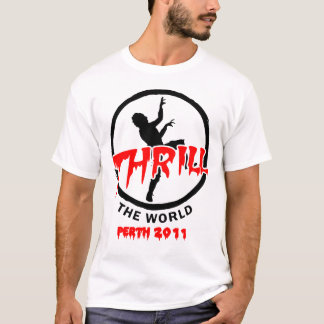 Official Thrill the World Perth 2011 T-Shirt