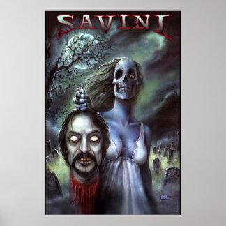 Official Tom Savini Zombie Print