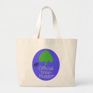 Official Tree-Hugger Jumbo Tote Bag