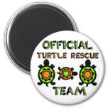 Official Turtle Rescue Team 1 Refrigerator Magnets