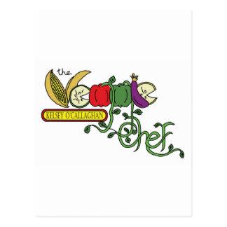 Official Veggie Chef Postcard