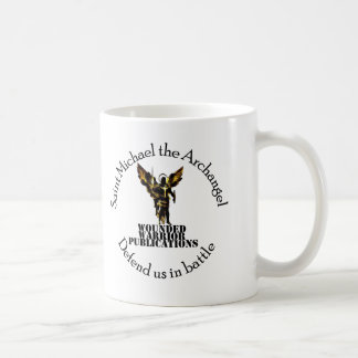 Official Wounded Warrior Publications Logo Classic White Coffee Mug