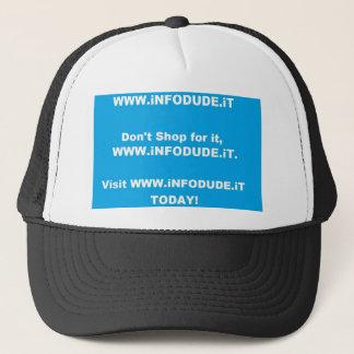 Official WWW.iNFODUDE.iT Hat! Trucker Hat