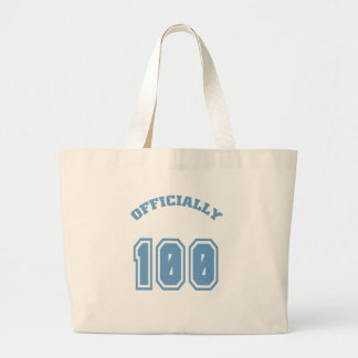 Officially 100 tote bags