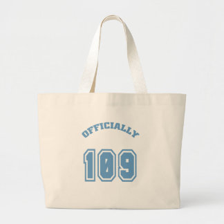 Officially 109 canvas bags