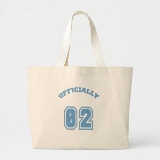 Officially 2 canvas bag