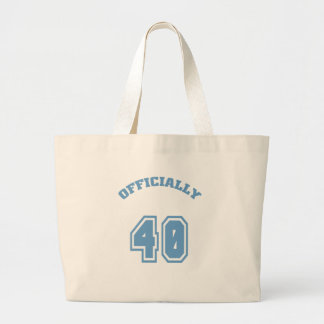 Officially 40 tote bags