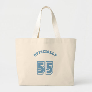Officially 55 tote bag