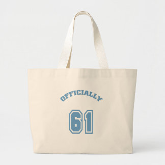 Officially 61 tote bag