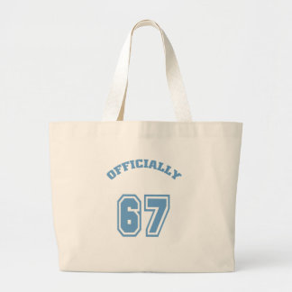 Officially 67 tote bags