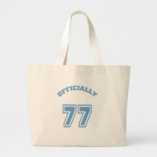 Officially 77 tote bags