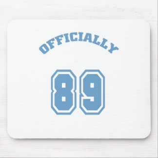 Officially 89 mouse pad