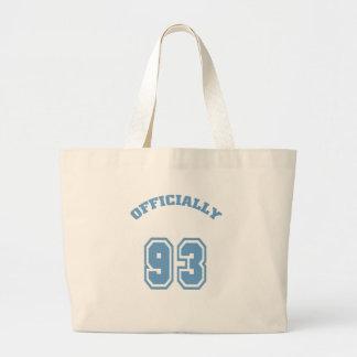 Officially 93 canvas bag
