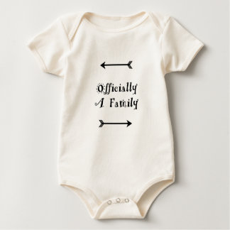 Officially a Family - Adoption Day Baby Bodysuit