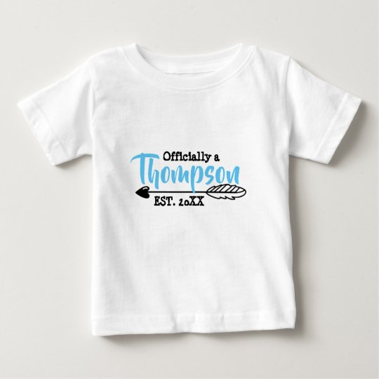 Officially a Family - Foster Adopt - New Child Baby T-Shirt