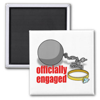 Officially Engaged Magnet
