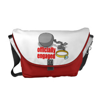 Officially Engaged Messenger Bag