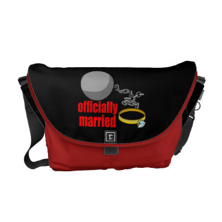 Officially Married Messenger Bag