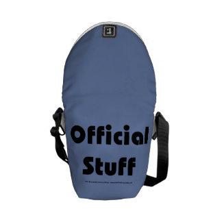Officially official messenger bag