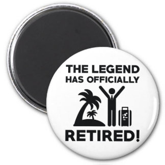 Officially Retired Magnet