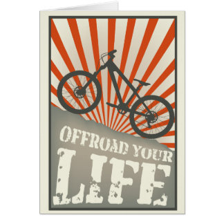 Offroad your life card