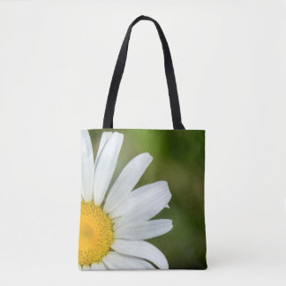 Offset Daisy Tote Bag