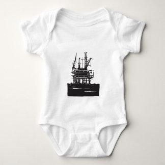 Offshore Oil Rig Baby Bodysuit
