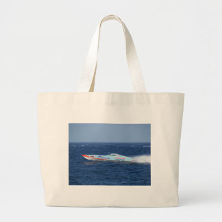 Offshore Powerboat Racer Tote Bags